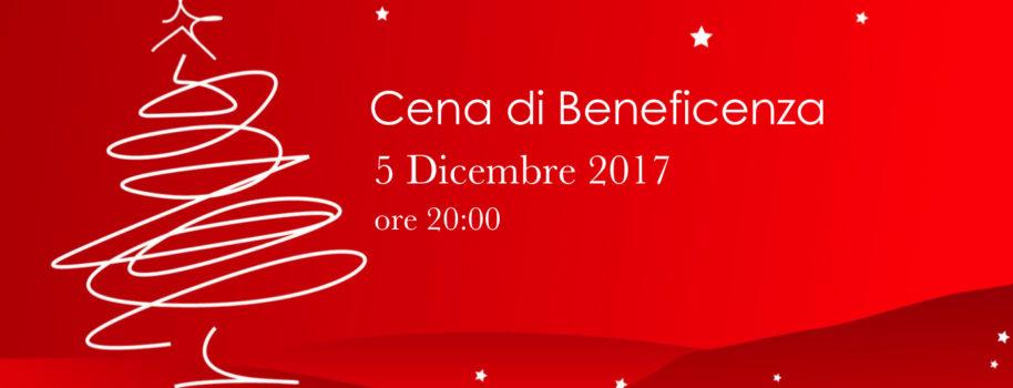 Cena di Beneficenza Natale 2017