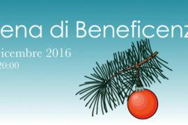 Cena di Beneficenza – 2 Dicembre 2016